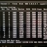 boot disk failure