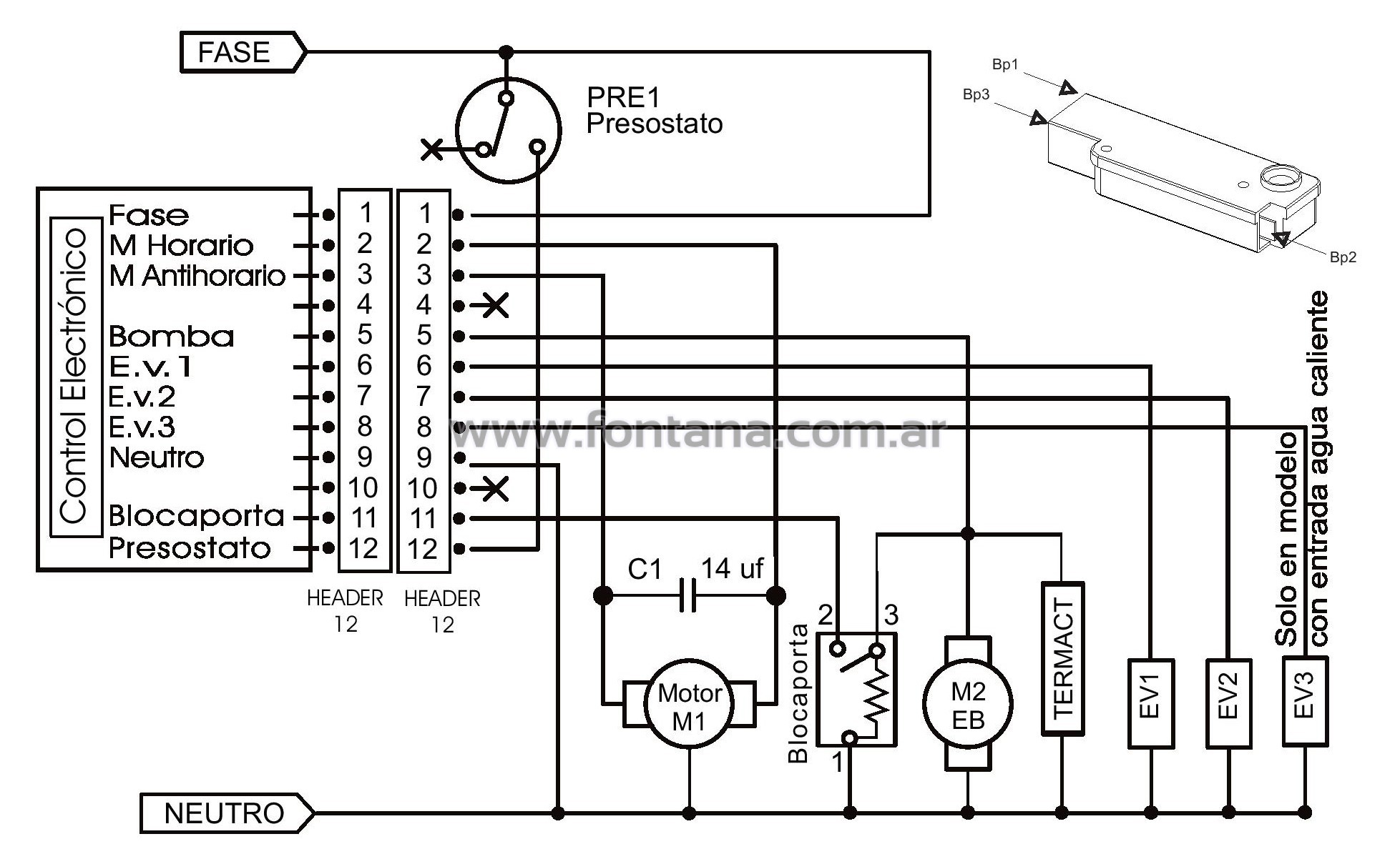 circuito electrico y despiece de lavarropas drean fuzzy