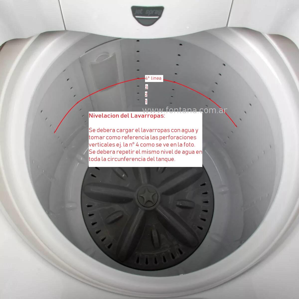 nivelacion lavarropas